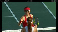 8/6/16 Rio 2016 Olympic Games Tennis Women's Singles - 1st Round…Zheng Saisai upset Aga Radwanska 6-4, 7-5! 🙌