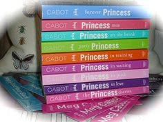 LOVE this series. Hilarious. but the second one 'Princess in the Spotlight' is missing :(