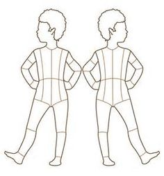 Children <b>Fashion</b> Croquis <b>Templates</b> <b>Figure</b>