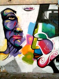 Graffiti with my friend Jeh NiÑos