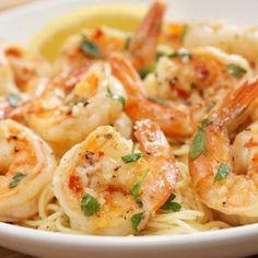 Frozen Cooked Shrimp, Frozen Shrimp Recipes, Cooked Shrimp Recipes, Fish Recipes, Seafood Recipes, Cooking Recipes, Seafood Pasta, Scampi Sauce, Cooking