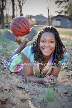 Senior Picture but with a football :)