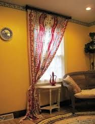boho window curtains - Google Search