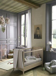 à la parisienne: French Lesson Fridays: Nursery Decor but it needs a touch of D. Porthault to finish the look.