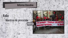 REFORMA EDUCATIVA (1a PARTE)