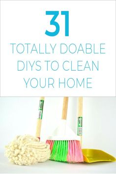 Your Totally-Doable 31 Day Plan to a Clean Home! Struggling with the daunting task of spring cleaning? Then check out these DIY cleaning tips and hacks that will have your home looking like new in just one month without it feeling like torture! Deep Cleaning Tips, House Cleaning Tips, Cleaning Solutions, Spring Cleaning, Cleaning Hacks, How To Remove Kitchen Cabinets, Homemade Cleaning Products, Clean Freak, Toilet Cleaning