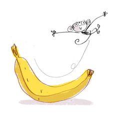 banana slide - Fred Blunt