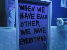 """""""When we have each other, we have everything."""" #graffiti #photography #graffitiphotography"""
