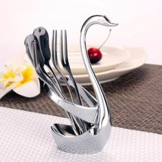 MÉNAGÈRE Creative Swan cuillère à café Base Combinaison Paq