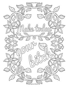 Amazon Big Beautiful Bitch An Uplifting Swear Word Coloring Book