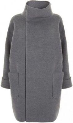 Викрійка пальта-кокона своїми руками