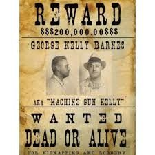 Image result for mobsters wanted posters