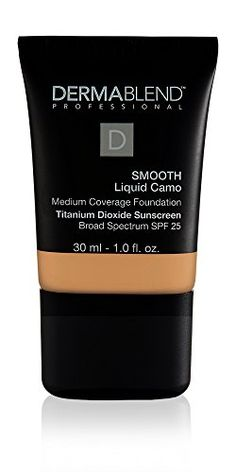 Dermablend Smooth Liquid Foundation Makeup with SPF 25 for Medium to Full Coverage 40c Sepia 1 Fl Oz -- Check out this great product. (This is an affiliate link and I receive a commission for the sales)