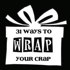 Maybe.... gift-and-gift-wrapping-ideas