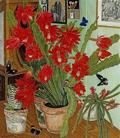 Adolf Dietrich  Cactus in Interior 1936*..