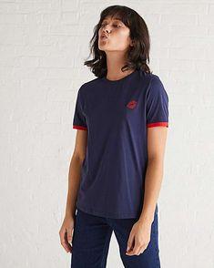 Oliver Bonas Navy T-Shirt