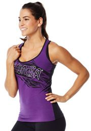 Safari Racerback | Click to shop with 10% discount http://www.zumba.com/en-US/store/US/affiliate?affil=10sale  or use Savings Code 10SALE at checkout