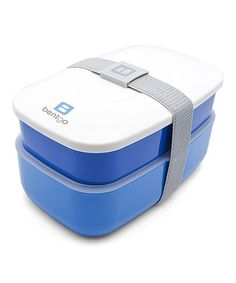 Take a look at this Blue Bento Box by Bentgo on #zulily today!