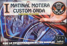 I Matinal Motera Custom Onda, en Onda (Castellón)