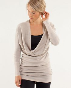 Love this multi-way sweater! serenity sweater wrap | women's tops | lululemon athletica