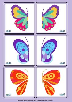 Color Activities, Activities For Kids, Crafts For Kids, School Posters, Chenille, New Print, Puzzles, Homeschool, Butterfly