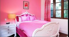 My daughters bedroom it'll be pink and princess
