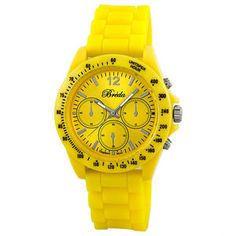 Haley Watch Women's Yellow now featured on Fab.