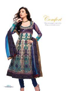 Ambaji creation product code :- 606 A salwar suite blue+rama colour , net Dupatta-Fabrics, net Lehanga -Febrics, broket Choli-Fabrics, gota Lininig, semi Stiching, contect :- ambajicreation999@yahoo.com price :- 4190