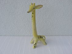 Majolika - Walter Bosse - Giraffe von Hamsterkiste auf DaWanda.com