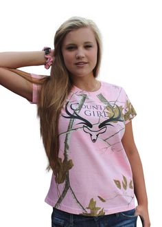 f438c42de2d Realtree Pink Camo Tshirt Womens Plus Size 1X 2X Antler Logo Country Redneck  Tee  RealtreeAPCPinkOfficiallyLicensed