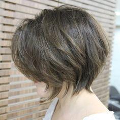 21 linda en capas Peinados Bob // #capas #linda #Peinados Más