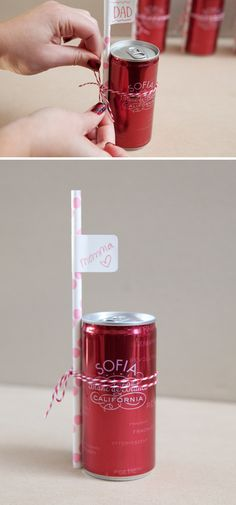 love this idea for piper's baptism favors