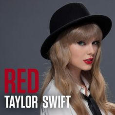 Taylor Swift Red Photoshoot   RED Album Cover : Taylor Swift