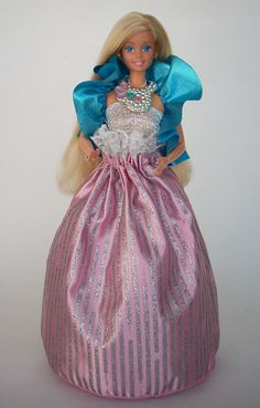 Barbie Jewel Secrets 1986 - the skirt was a drawstring bag!