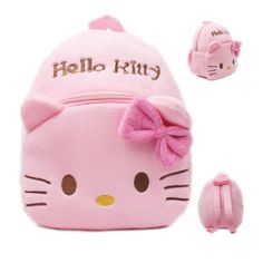 Letshopping Kids Cute Short Plush Backpack ^^ Save this wonderfull item : Christmas Luggage and Travel Gear
