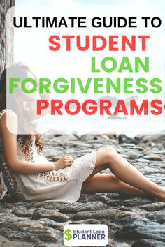 Every Student Loan Forgiveness Program (And How to Get It) - Student Loan Got student loans? Here's everything you need to know about student loan forgiveness from the student loan experts. Apply For Student Loans, Private Student Loan, Federal Student Loans, Paying Off Student Loans, Student Loan Debt, Scholarships For College, Education College, College Loans, College Life