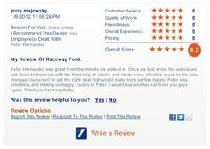 Take a look at this great review of Raceway Ford in Riverside, CA found on DealerRater.com!