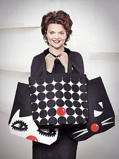 Lulu Limited edition Lulu Guinness Red Nose Bags