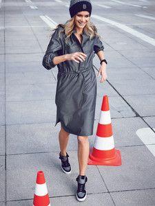 burda style: Damen - Kleider - Blusenkleider - Hemdblusenkleid - Bündchen