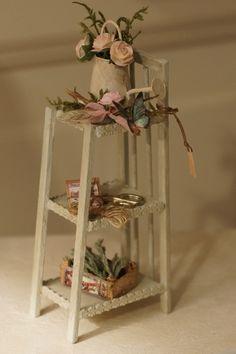 Atelier miniatures - shabby chic