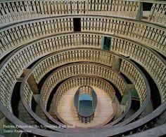 University of Padova, Anatomical Theatre, built 1594.