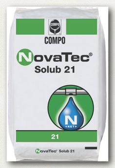 ΥΔΑΤΟΔΙΑΛΥΤΑ ΛΙΠΑΣΜΑΤΑ NovaTec Solub 21  Σύνθεση: 21-0-0 +24S  Άζωτο σε 100% σταθεροποιημένη αμμωνιακή μορφή. Ιδανικό για κάθε καλλιέργεια για σταδιακή τροφοδοσία σε άζωτο με στρωτή ανάπτυξη και πολύ καλό χρωματισμό.     Συσκευασία: σάκοι των 25 κιλών.