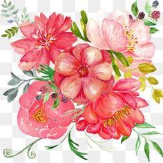 رسمت باليد الزهور, الزهور, رسمت باليد, رسمت باليد الزهورPNG صورة