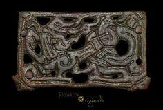 Anglo-Scandinavian 'Fenrir' Openwork Viking Panel 022431