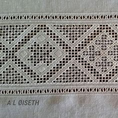 Hardanger Embroidery, Elsa, Instagram, Border Tiles, Hand Embroidery, Dots, Lace