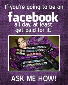 Get Paid to be on Facebook-#Younique presenter #mineral makeup