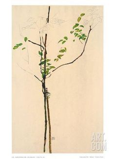 Young Tree Trykk - samleobjekt by Egon Schiele at Art.com