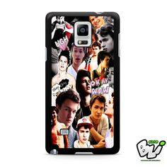 Ansel Elgort The Fault In Our Stars Samsung Galaxy Note 4 Case