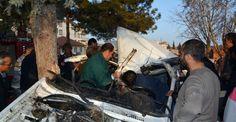 Antalya'da aşırı hız kaza getirdi: 1 ölü, 2 yaralı
