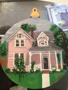 Custom Painted  Ornament of Your House by OlsenTrademarkCrafts, $20.00